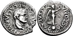 Ancient Coins - Galba. AR Quinarius. Victory. RARE.