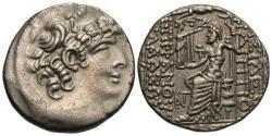 Ancient Coins - Seleucis and Pieria: Antioch. Quintius Caecilius Bassus. AR Tetradrachm.