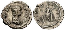 Ancient Coins - Lucilla. Wife Of Caracalla. AR Denarius. Venus.