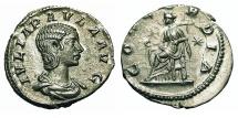 Ancient Coins - Julia Paula - First Wife Of Elagabalus. Denarius. Concordia. Bold.