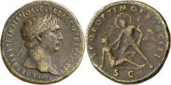 Ancient Coins - Trajan. Æ Sestertius. Conquest of Dacia.