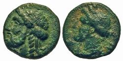 Ancient Coins - Paphlagonia, Sesamos. Æ 14 mm. Zeus / Demeter. RARE.