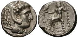 Ancient Coins - Seleukid Kings of Syria. Seleukos I Nikator. AR Tetradrachm.