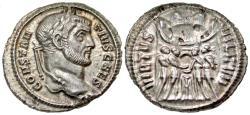 Ancient Coins - Constantius I. As Caesar. AR Argenteus.