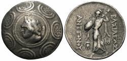 Ancient Coins - Kings of Macedon. Antigonus Gonatus. AR Tetradrachm. Pan / Athena.