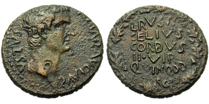 Ancient Coins - Macedon, Pella Or Dium. Tiberius.