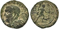 Ancient Coins - Phoenicia, Akko-Ptolemais. Valerian I. Artemis. SCARCE.