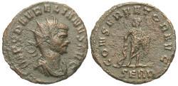 Ancient Coins - Aurelian. Æ Antoninianus. Asclepius. RARE.