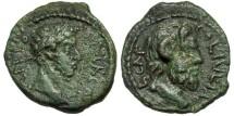 Ancient Coins - Macedon, Cassandreia. Commodus. Zeus Ammon.
