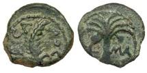 Ancient Coins - Marcus Ambibulus. Prefect Under Augustus. Prutah. Year 41.