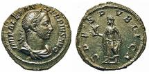 Ancient Coins - Severus Alexander. Denarius. Spes. Lustrous.