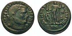 Ancient Coins - Licinius I. Follis. Jupiter. Nicomedia Mint.