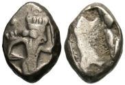 Ancient Coins - Persia. Achaemenid Kings. Artaxerxes I to Xerxes II. AR Siglos.