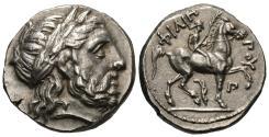 Ancient Coins - Kings of Macedon. Philip II. AR Tetradrachm.