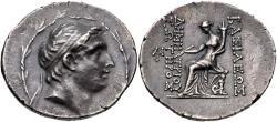 Ancient Coins - Seleukid Kings of Syria. Demetrios I Soter. AR Tetradrachm. Antioch Mint.