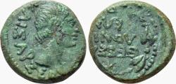 Ancient Coins - Macedon, Thessalonica. Augistus. Æ 17 mm.