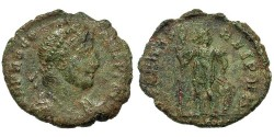Ancient Coins - Procopius. Æ 3. Constantinople Mint. Scarcer w/Bust Right.