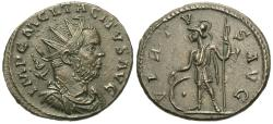 Ancient Coins - Tacitus. Æ Antoninianus. Virtus.