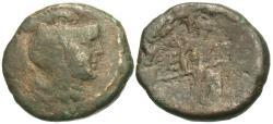 Ancient Coins - Attica, Athens. Æ 20 mm. Rare.