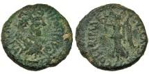 Ancient Coins - Caesarea Maritima. Lucius Verus. Nike. RARE.