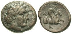 Ancient Coins - Mysia, Lampsakos. Æ 19 mm. Pegasos. SCARCE.