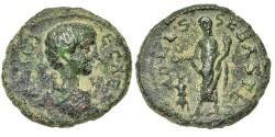Ancient Coins - Judaea, Sebaste. Geta as Caesar, Sacrificing.