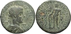 Ancient Coins - Cilicia, Tarsos. Gordian III.  Æ 34 mm. Hercules & The Apples Of The Hesperides.