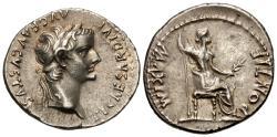 Ancient Coins - Tiberius. AR Denarius. 'Tribute Penny'. Choice!