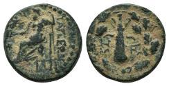 Ancient Coins - Cilicia, Tarsos. Æ 18 mm. Zeus / Club.