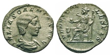 Ancient Coins - Julia Soaemias - Mother Of Elagabalus. Denarius. Venus.