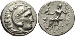 Ancient Coins - Ionia, Kolophon. AR Drachm. In The Name Of Alexander The Great.