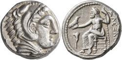 Ancient Coins - Kings of Macedon. Alexander III - The Great. AR Tetradrachm. Amphipolis Mint.