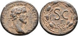 Ancient Coins - Syria: Seleucis & Pieria, Antioch. Antoninus Pius. Æ 'As'.