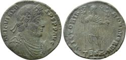 Ancient Coins - Jovian. Æ Double Maiorina. Thessalonica Mint.