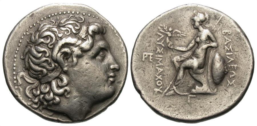Kingdom of Thrace, Lysimachos, Silver Tetradrachm | Greek