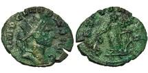 Ancient Coins - Claudius II, Gothicus. Antoninianus. Laetitia.