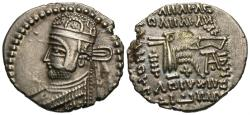Ancient Coins - Parthian Kingdom. Parthamaspates. AR Drachm. See Story.