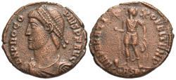 Ancient Coins - Procopius. Æ 20 mm. Large Flan.