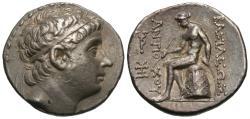 Ancient Coins - Seleukid Kings of Syria. Antiochos III - The Great. AR Tetradrachm. Fine Style!