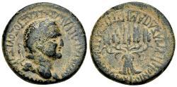 Ancient Coins - Phrygia, Apameia. Vespasian. Æ 25 mm. Five Grain Ears.