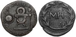 Ancient Coins - KINGS of BOSPOROS. Rheskouporis I. Æ 48 Units.