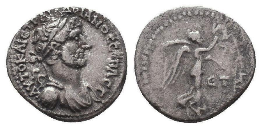 Ancient Coins - Cappadocia, Caesarea-Eusebia. Hadrian. AR Hemidrachm.