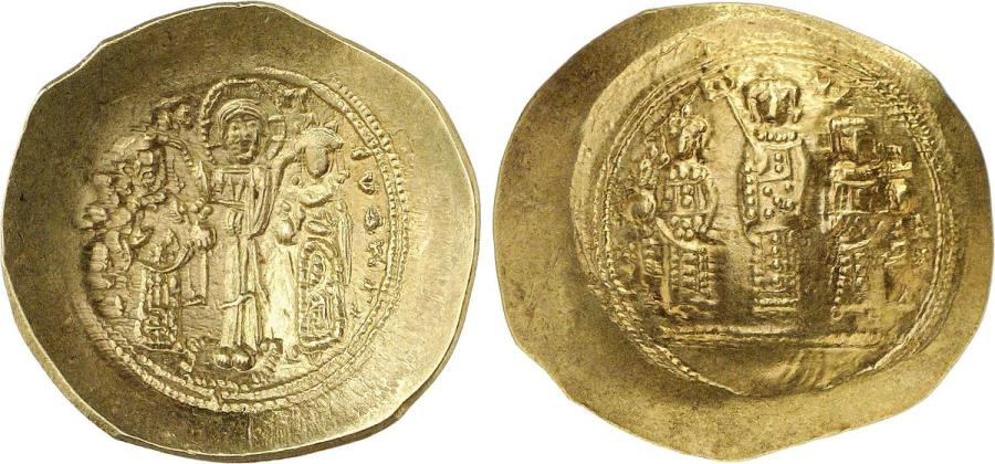 Ancient Coins - Byzantine Empire. Romanus IV. Gold Histamenon Nomisma.