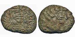 Ancient Coins - Characene Kingdom. Maga - Son of Anthabiaos. Æ Tetradrachm.
