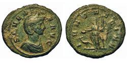 Ancient Coins - Severina. Wife Of Aurelian. As. Juno. SCARCE.