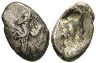 Ancient Coins - Persia. Achaemenid Kings. Darios I to Xerxes II. AR Siglos.