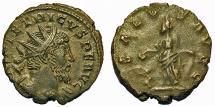 Ancient Coins - Tetricus I. Antoninianus. Salus.