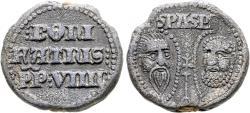 World Coins - Italy. Papal. Boniface IX. Pb Bulla. RARE.