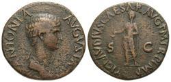 Ancient Coins - Antonia Minor. Æ Dupondius. Mother of Claudius.