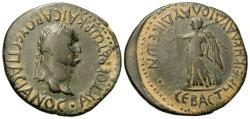 Ancient Coins - Lycaonia, Laodicea Combusta. Vespasian. Æ 27 mm.